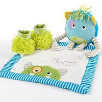 Monster Party Three-piece Gift Set - Whimsical &amp; Unique Gift Ideas for the Coolest Gift Givers