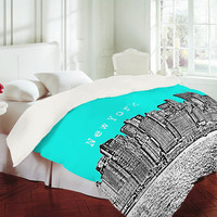 DENY Designs Home Accessories | Bird Ave New York Aqua Duvet Cover