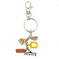 Friends Charm Keychain