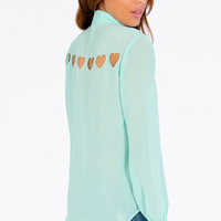 Hearts About Blouse $29