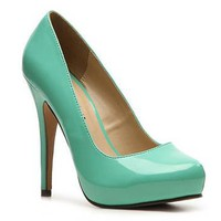 Michael Antonio Love Me Bright Patent Pump