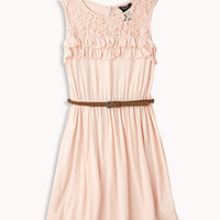 Ruffled Lace Trim Dress | FOREVER 21 - 2055133140