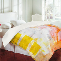 Sophia Buddenhagen Bright Book Duvet Cover