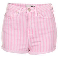 MOTO Pink Stripe Hotpants - New In This Week  - New In