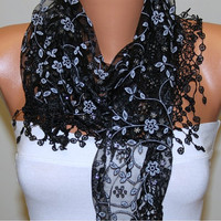 Etsy - Women Shawl Scarf - Headband Necklace Cowl/76891784