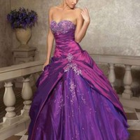 Ball Gown Beading and Applique Dress [19188901] - $180.00 : dressnl.com, Prom Dresses Holland online shop