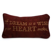 Disney Cinderella Pillow - ''A Dream is a Wish Your Heart Makes'' | Disney Store