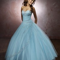 Tulle Beaded Sweetheart Neckline Hot Sell Quinceanera [dressnl3558] - $168.00 : dressnl.com, Prom Dresses Holland online shop