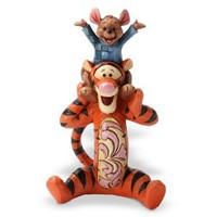 Amazon.com: Enesco Disney Traditions by Jim Shore Tigger and Roo Figurine, 4.5-Inch: Home & Kitchen