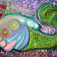 The Fat Mermaid Art Prints by Laura Barbosa - Shop Canvas and Framed Wall Art Prints at Imagekind.com