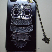 owlalice rabbitbirdIphone Case iPhone 4 Case iphone by qizhouhuang