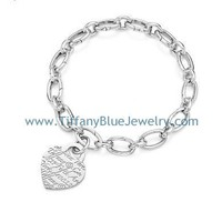 Find The Last Cheap Tiffany & Co Notes Heart Tag Charm Bracelet In Tiffanybluejewelry.com