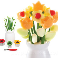 FLOWER POWER FRUIT VASE
