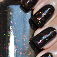 Jinx Black Jelly Nail Polish 15ml (.5oz)