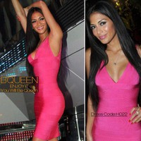 Nicole Scherzinger in H022 Dress - Celebrity Dresses - Apparel