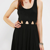 Lucca Couture Knit Cutout Waist Dress