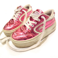 90's Hologram Candies's Platform Sneakers
