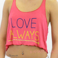Love Always Coral Tank Top