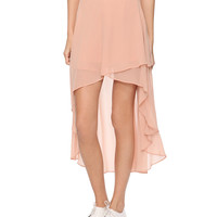 High-Low Hem Skirt | FOREVER21 - 2000037112