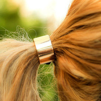 Gold Hair Tie Band | Haute1