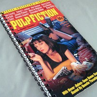 Pulp Fiction Recycled Notebook