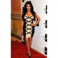 Kim Kardashian in H36E Dress - Designer Shoes|Bqueenshoes.com