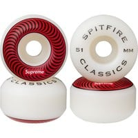 Supreme: Supreme/Spitfire® Wheels - Red