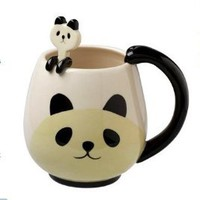Panda Fancy Mug Cup Set with Spoon $29.95
