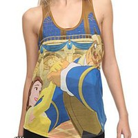 Disney Beauty And The Beast Girls Tank Top - 353422
