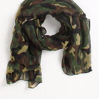 Kirra Camo Scarf at PacSun.com