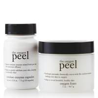 the oxygen peel | in-home oxygen peel | philosophy exfoliators & peels
