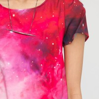 Moonshot Print Top