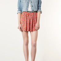 MOTO Hemmed Crop Denim Jacket - Jackets & Coats - Clothing - Topshop USA