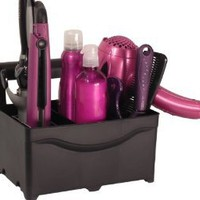 STYLEAWAY - BLACK; Curling Iron, Flat Iron, Blow Dryer, Hair Styling Products Holder / Hanger: Home & Kitchen