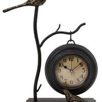 Bird and Branch with Hanging Clock - Clocks - Home Accents - Home Decor | HomeDecorators.com