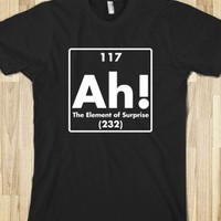 Ah! The Element of Surprise - Marvel Designs - Skreened T-shirts, Organic Shirts, Hoodies, Kids Tees, Baby One-Pieces and Tote Bags