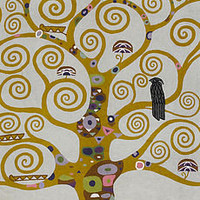 Klimt Tree Of Life Rug/Wall Art