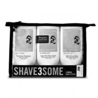 Billy Jealousy SHAVE3SOME 3oz Travel-Size Shave Trio
