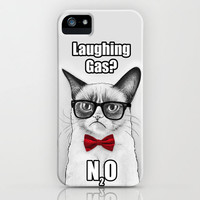 Grumpy Chemistry Cat, Tardar Sauce, Tard iPhone Case by Olechka | Society6