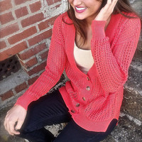 Poppy Fields Cardigan | The Rage