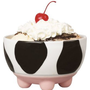 Boston Warehouse Udderly Cows Ice Cream Bowl: Kitchen & Dining