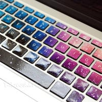 Universe StarMacbook Keyboard Decal/Macbook Pro by Tloveskin