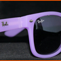 New Wayfarer Sunglasses Purple Colour NIB NWT