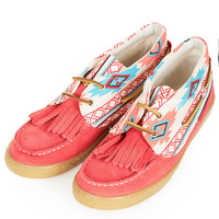 TEMPA Aztec Mocassins - View All - Shoes - Topshop USA