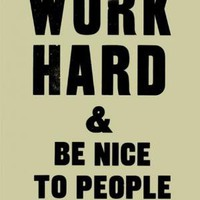 Counter-Objects.co.uk - Work Hard and Be Nice to People