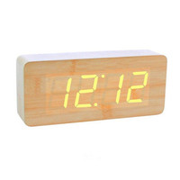 Oblong LED Alarm Clock For The Simple Life