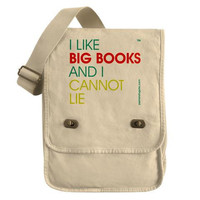 I Like Big Books And I Cannot Lie by PamelaFugateDesigns