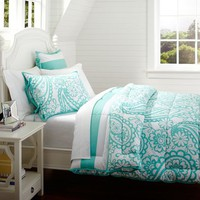 Garden Paisley Super Pouf Comforter + Sham