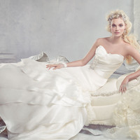 Bridal Gowns, Wedding Dresses by Alvina Valenta - Style AV9300