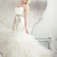 Bridal Gowns, Wedding Dresses by Alvina Valenta - Style AV9307